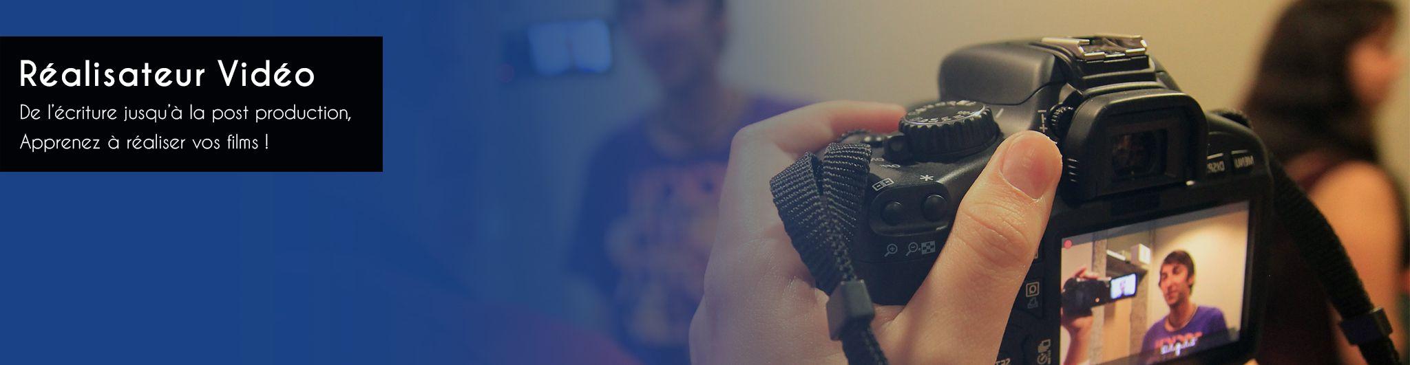 formation réalisateur vidéo